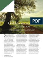 Golden Moments of Landscape Lincs Life Article
