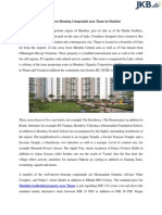 Well-Known Housing Compounds Near Thane in Mumbai