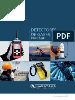 Catalogo detector de gases