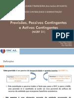 [05] Provisões, Activos e Passivos Contingentes