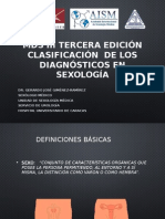 Mds III Tercera Edición Clasificación