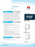 HUAWEI Outdoor Power System TP48120A-HD09A1 Datasheet