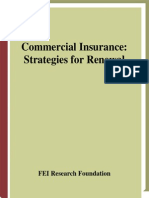 Financial Executives Research Foundation Commercial Insurance- Strategies for Renewal 2002