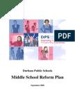 2009 NC Durham PS Middle School Reform