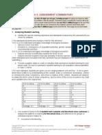 Danielle Wilson EdTPA SES Assessment Commentary