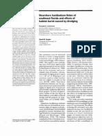1999 Lindeman & Snyder. NHB Fishes and Dredging