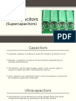 Ultracapacitors (Supercapacitors)