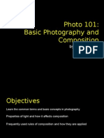 Photo 101 - Basic Photography and Composition
