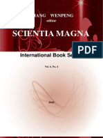 SCIENTIA MAGNA, book series, Vol. 6, No. 4