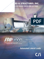 Lateral Loads Manual for sap2000