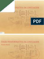 Visão Performativa da linguagem