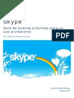 Skype Guia de Buenas Practicas
