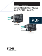C441 Ethernet Module User Manual
