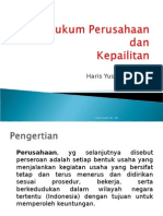 HB - Hukum Perusahaan
