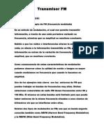 Transmisor FM Informe