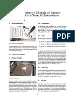 Mantenimiento y Montaje de Equipos Informáticos-Tema 6-Herramientas