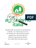 Analisi Di Agroturismo in Italia 2014