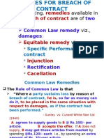 7Remedies for Breach of Contract