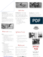 pamphlet anzac final