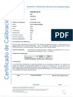 CERTIFICADO 3 - CALIBRACION