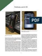 Telefonía Móvil 4G Origenes y Decesos