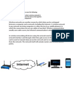 wireless networks task sheet