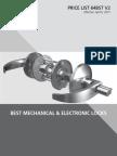 BEST Mechanical & Electronic Locks- 2015 v2