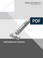 Precision Exit Devices- 2015 v2