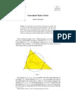 Generalized Tucker Circles