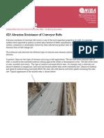 Abrasion Resistance Conveyor Belts