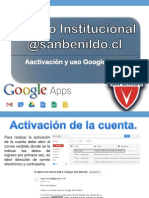 Mini Tutorial para la Activacion Cuenta Google Apps