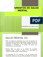 Fundamentos de Salud Mental