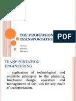 The Profession of Transportation