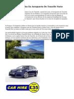 Alquiler De Vehiculos En Aeropuerto De Tenerife Norte