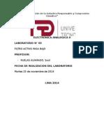 Informe 3 Filtro Activo Pasa Bajo UTP