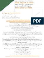 Kauai Retreat Registration Form 2015