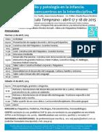 Jornadas VT Abr 2015 Programa