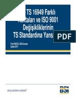 TS-IsO 9001 Farklari I