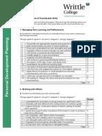skills audit (before)