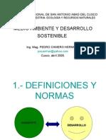 Medio Ambiente y Desarrollo Sostenible 1