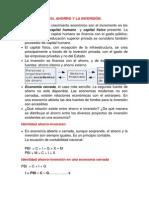 Ahorro, Inversión y Sistema Financiero (1)