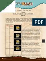 Significado de Los Dias Del Calendario Sagrado Maya