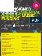 The Unsigned Guide's Essential Guide to Music Funding
