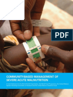 Community Based Management of Severe Acute Malnutrition (1)