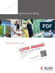 Xilinx Training Courses