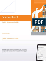 ScienceDirect Quick Reference Guide 2015