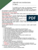 Dr Administrativ - Curs 1,2