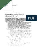 Dr Administrativ - Curs 4