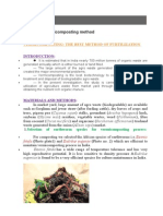 Project on vernicomposting method.doc