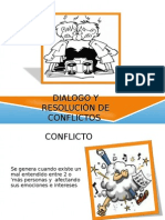 Dialogo y Resolución de Conflictos